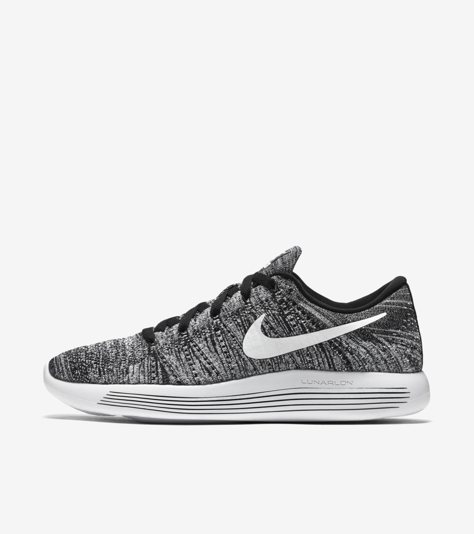 cheap for discount c8530 f35c6 Nike Lunarepic Low Flyknit 'Black & White'. Nike⁠+ SNKRS