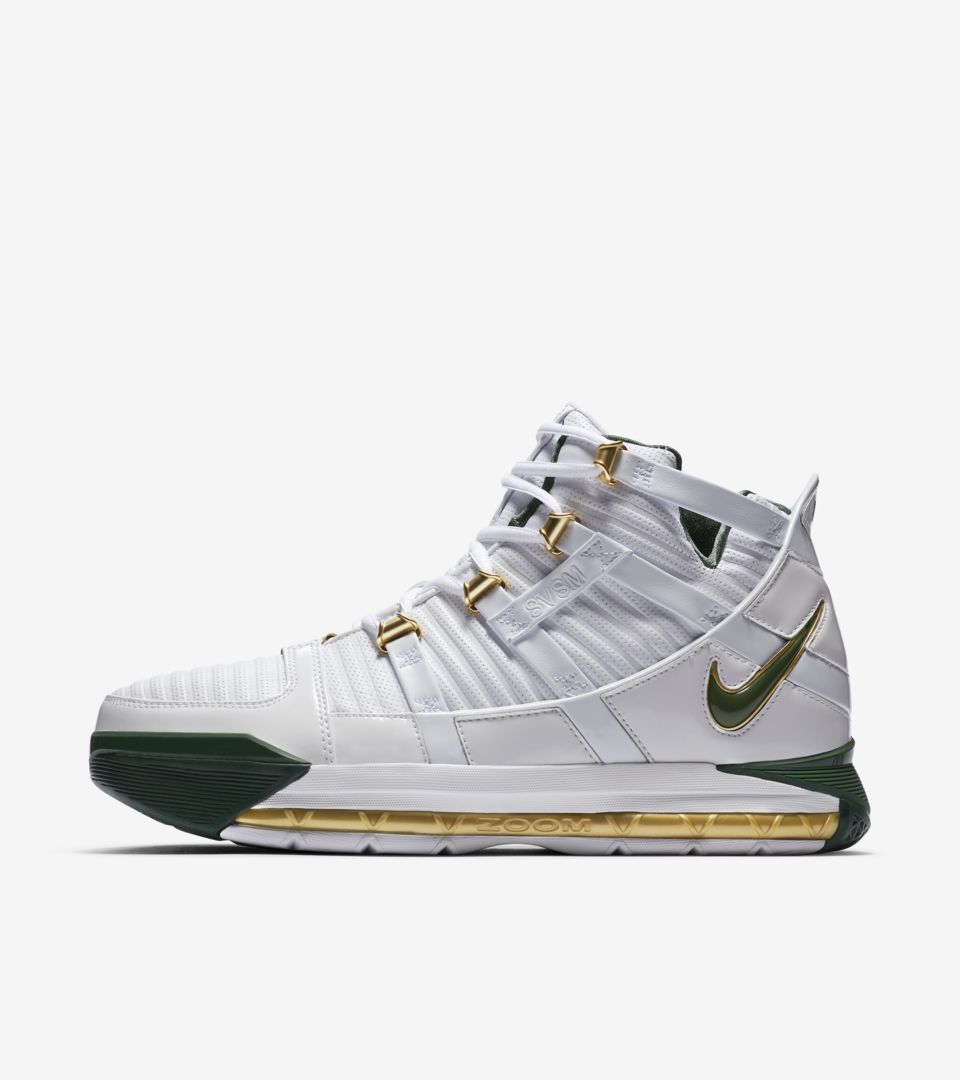 Zoom Lebron 3 'SVSM Away' Release Date