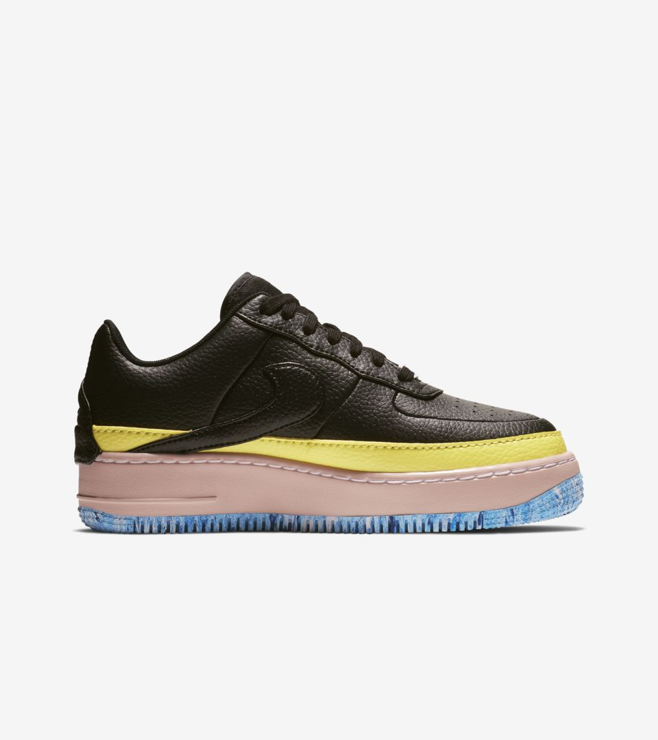 best service cf008 8a693 Women s Nike Air Force 1 Jester XX 1 Reimagined  Black   Sonic Yellow   Release