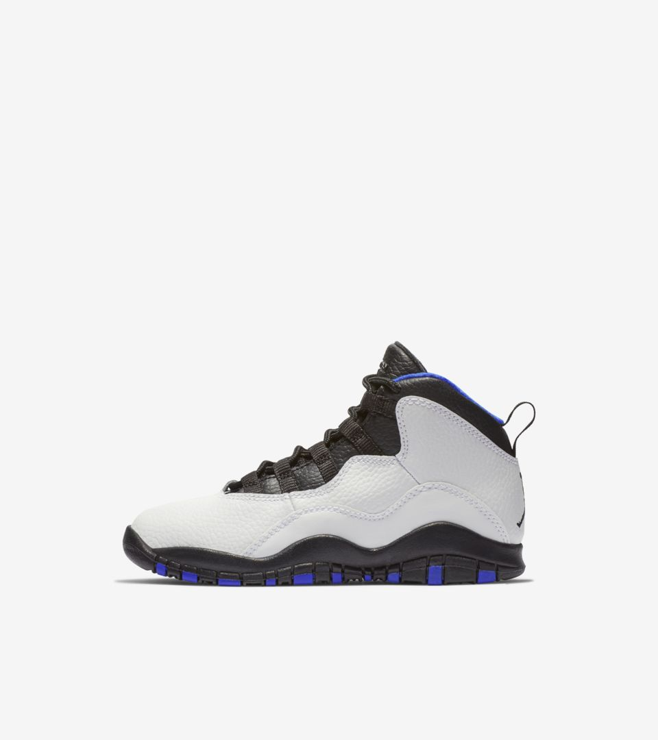 786b0b0bcd8 Air Jordan 10 Retro Orlando 'White & Royal & Black' Release Date ...