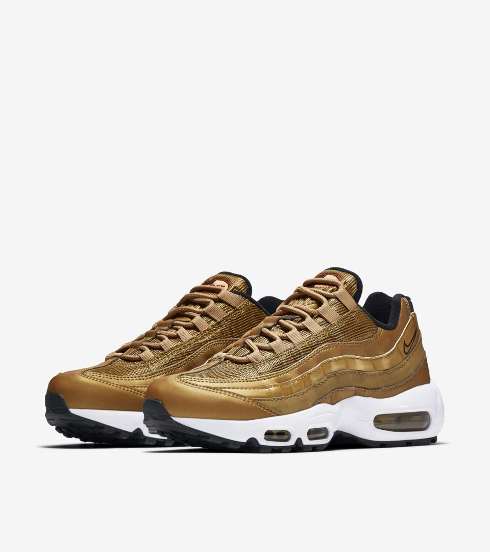 watch 886d3 2894f Women's Nike Air Max 95 'Metallic Gold' Release Date. Nike⁠+ ...