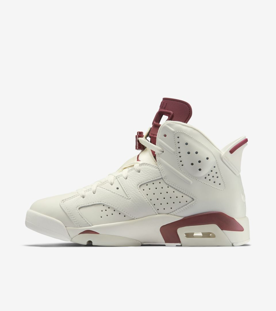 67d3ea3cb324a8 Air Jordan 6 Retro  Maroon  Release Date. Nike+ SNKRS