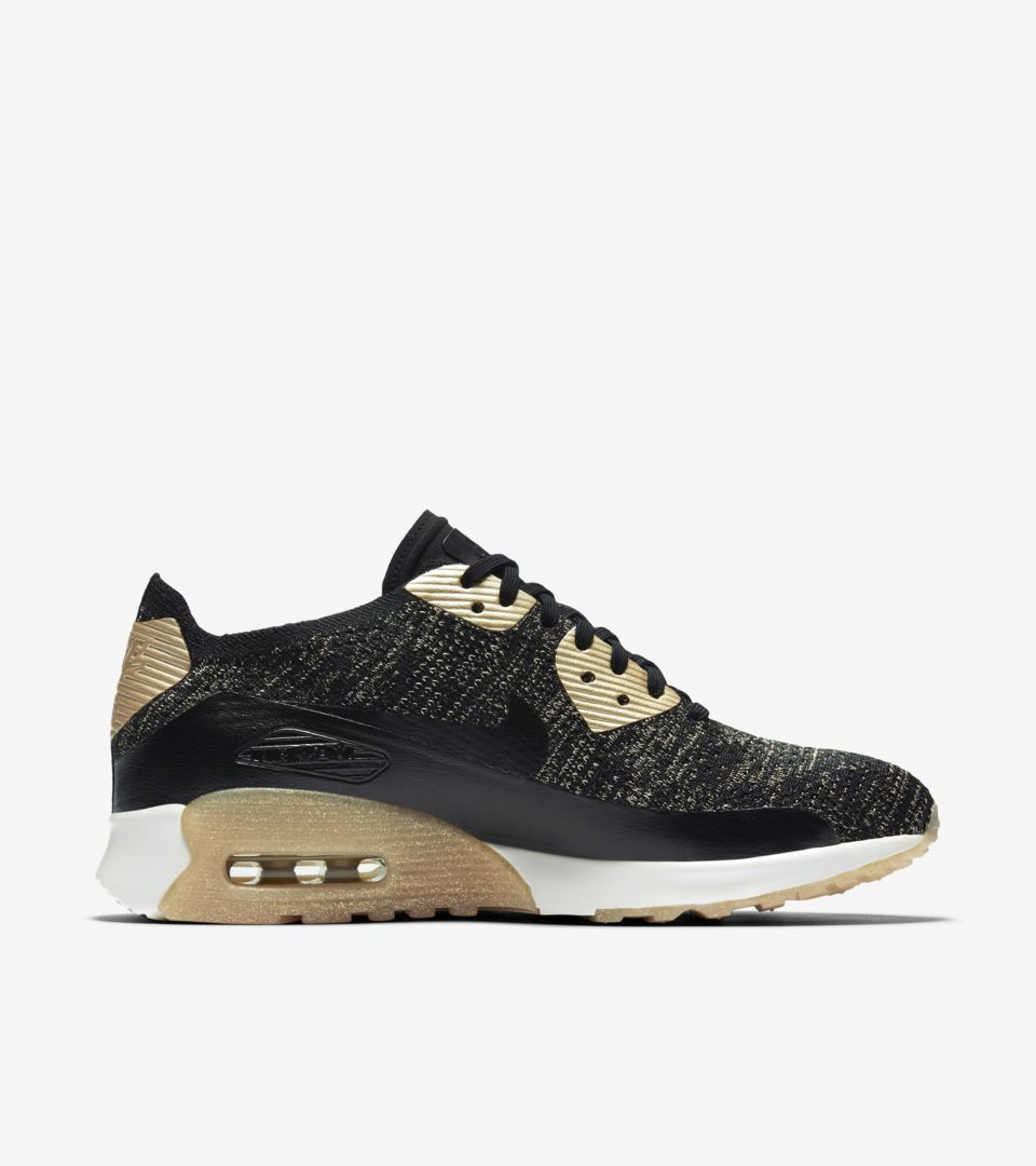 BUTY DAMSKIE AIR MAX 90 ULTRA 2.0 FLYKNIT METALLIC
