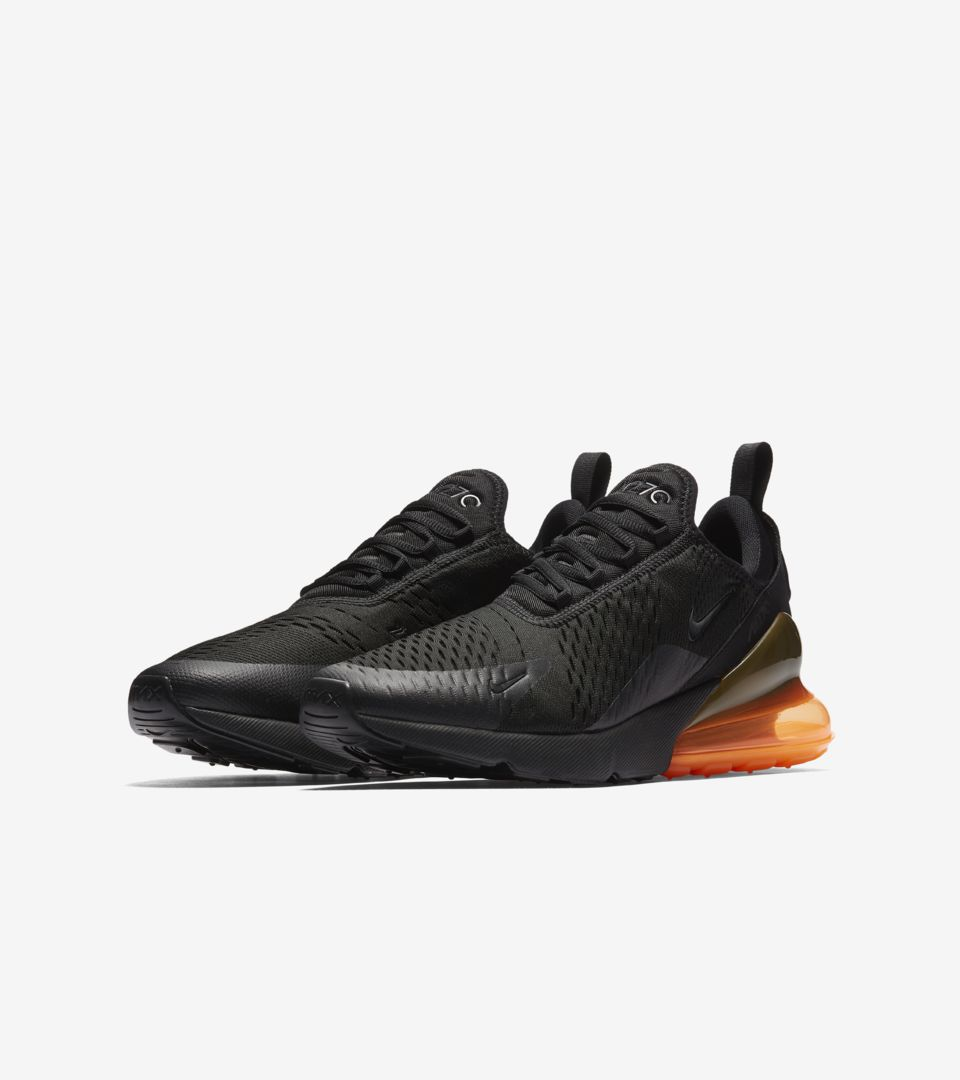finest selection d8a6b 4d6ce Nike Air Max 270 'Black & Tonal Orange' Release Date. Nike⁠+ ...