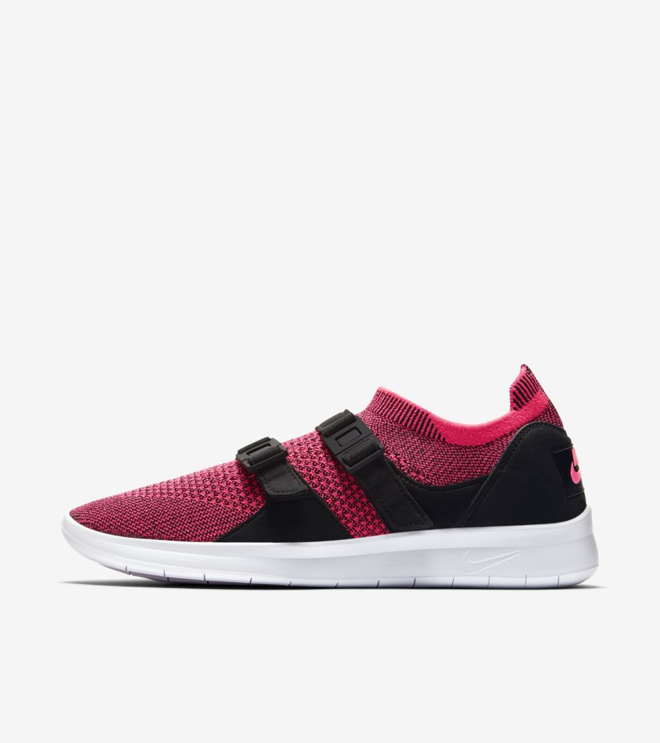 603e94d4954 Women's Nike Air Sock Racer Ultra Flyknit 'Racer Pink & Black'. Nike ...