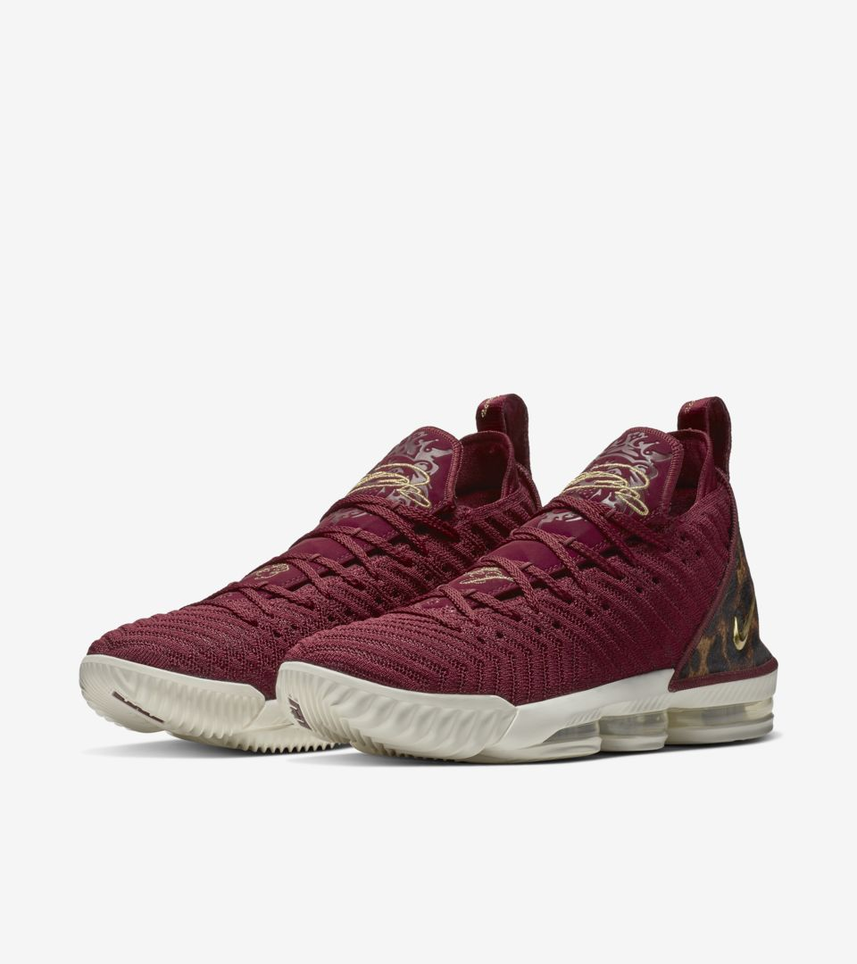 fac053e538cb Lebron 16 King  Team Red   Metallic Gold  Release Date. Nike+ SNKRS