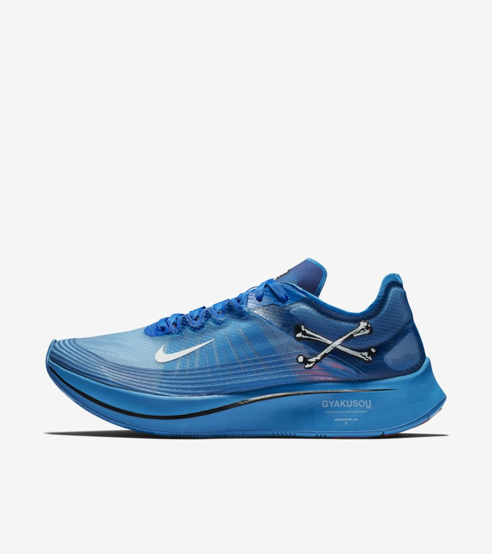 9b52ec3defa5e Nike Zoom Fly Gyakusou  Blue Nebula   Sail   Black  Release Date ...