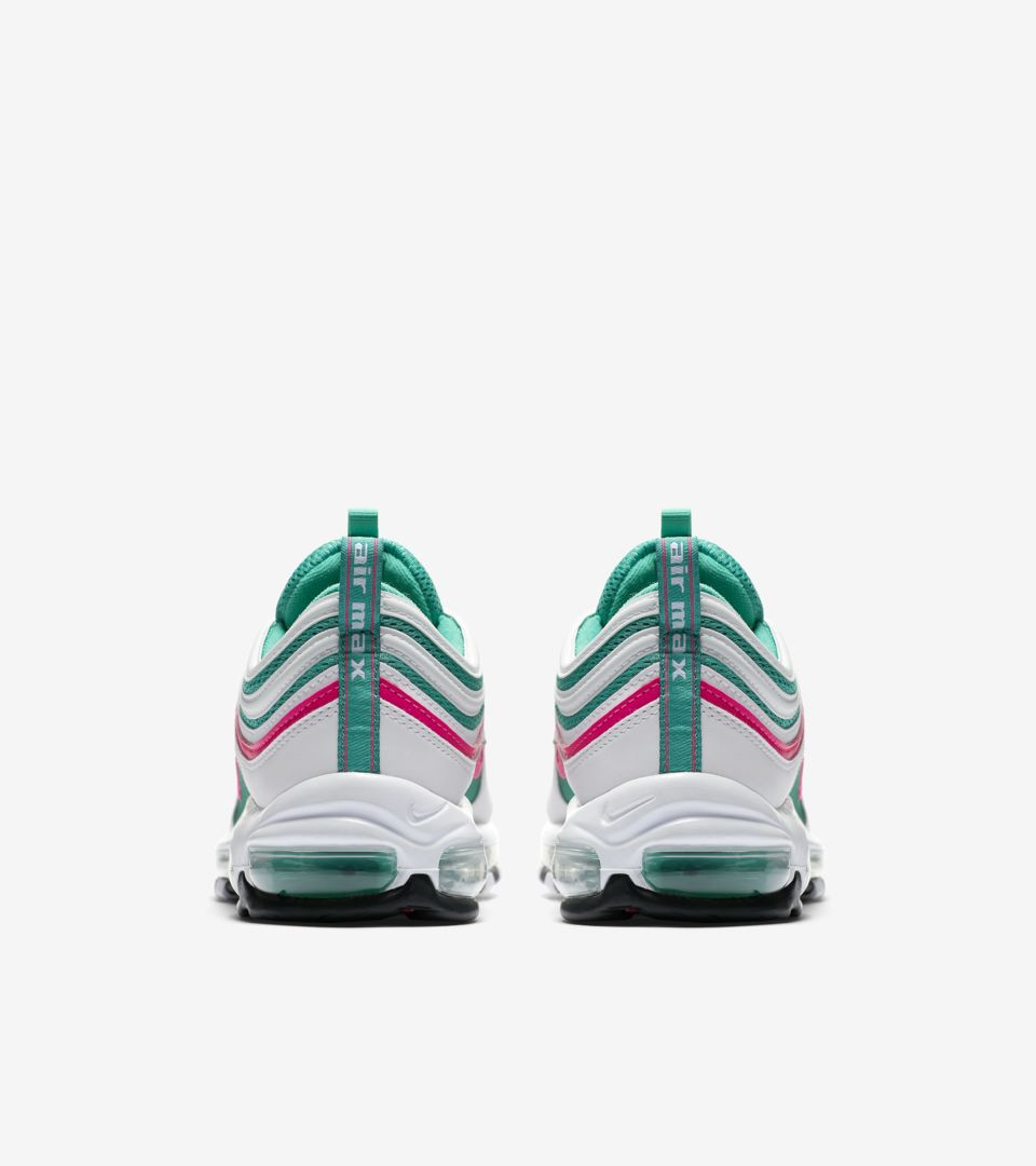 80808c4640 Nike Air Max 97 'White & Kinetic Green & Pink Blast' Release Date ...