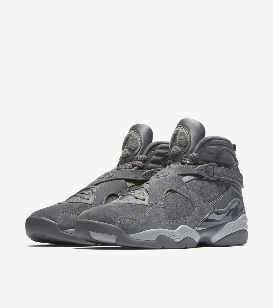31927336b612 Air Jordan 8 Retro  Cool Grey  Release Date. Nike⁠+ SNKRS