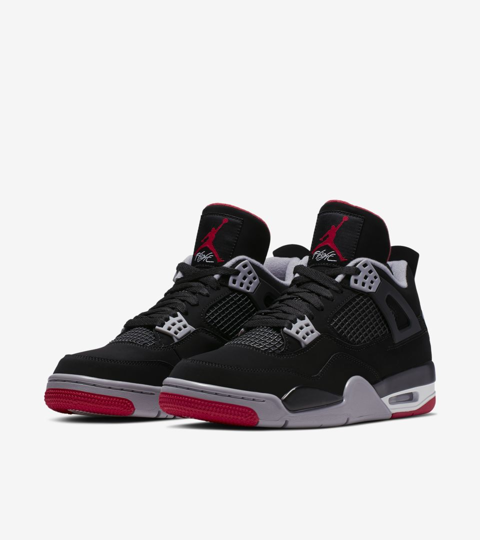 watch d6082 0605a Nike Air Jordan 4 Retro OG  Bred  Release Date