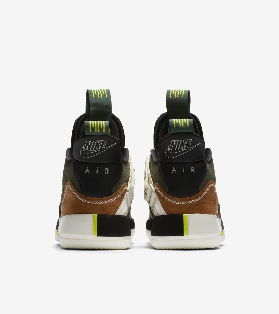 Air Jordan 33 Travis Scott 'Army Olive & Black & Ale Brown' Release Date