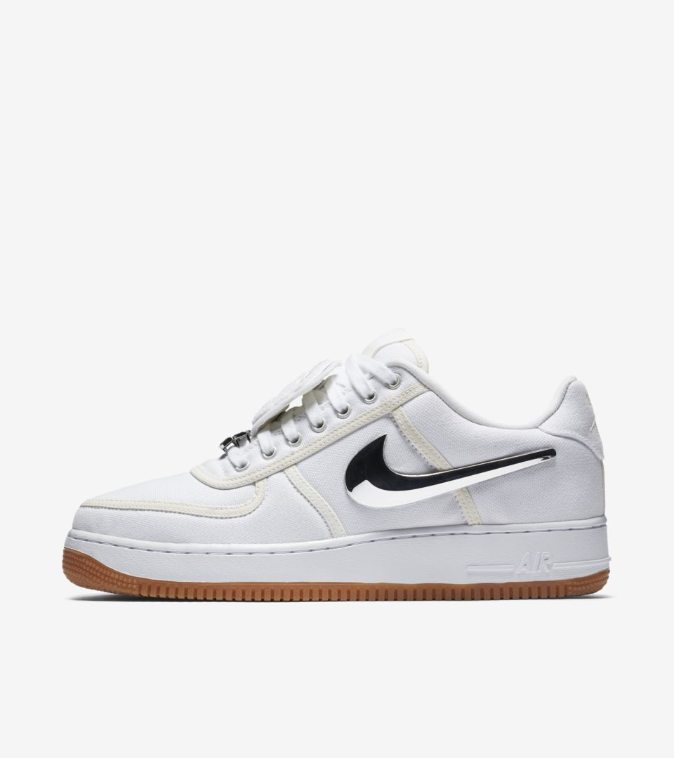 c24543f043 Nike Air Force 1 'Travis Scott' Release Date. Nike⁠+ SNKRS