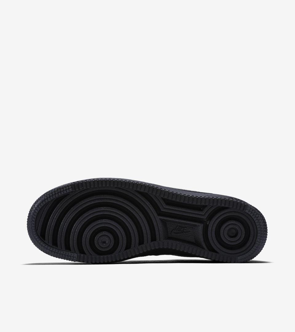 Nike Air Force 1 Ultra Flyknit Low 'Black & Metallic Silver