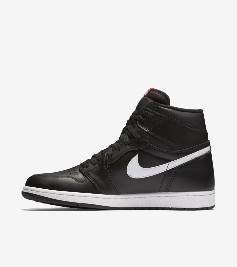 5fb2751a1986 Air Jordan 1 Retro High OG  Black   White  Release Date. Nike⁠+ SNKRS