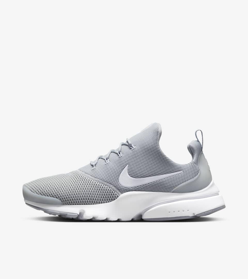 Nike Presto Fly 'Wolf Grey'. Nike SNKRS