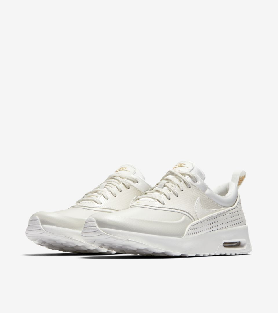 Women's Nike Air Max Thea Premium 'Summit White & Metallic