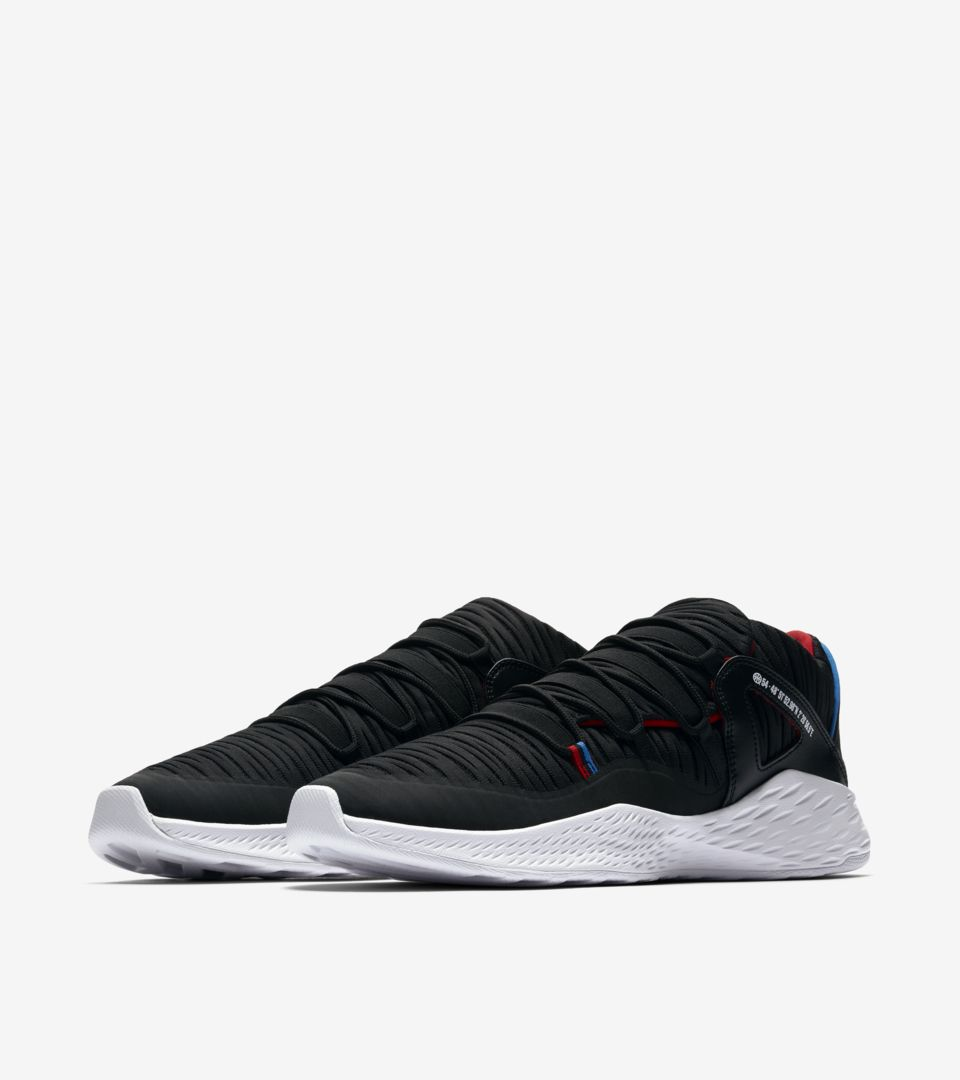 21a12d1d8cc3 Jordan Formula 23 Low Quai 54  Black   University Red  Release Date ...
