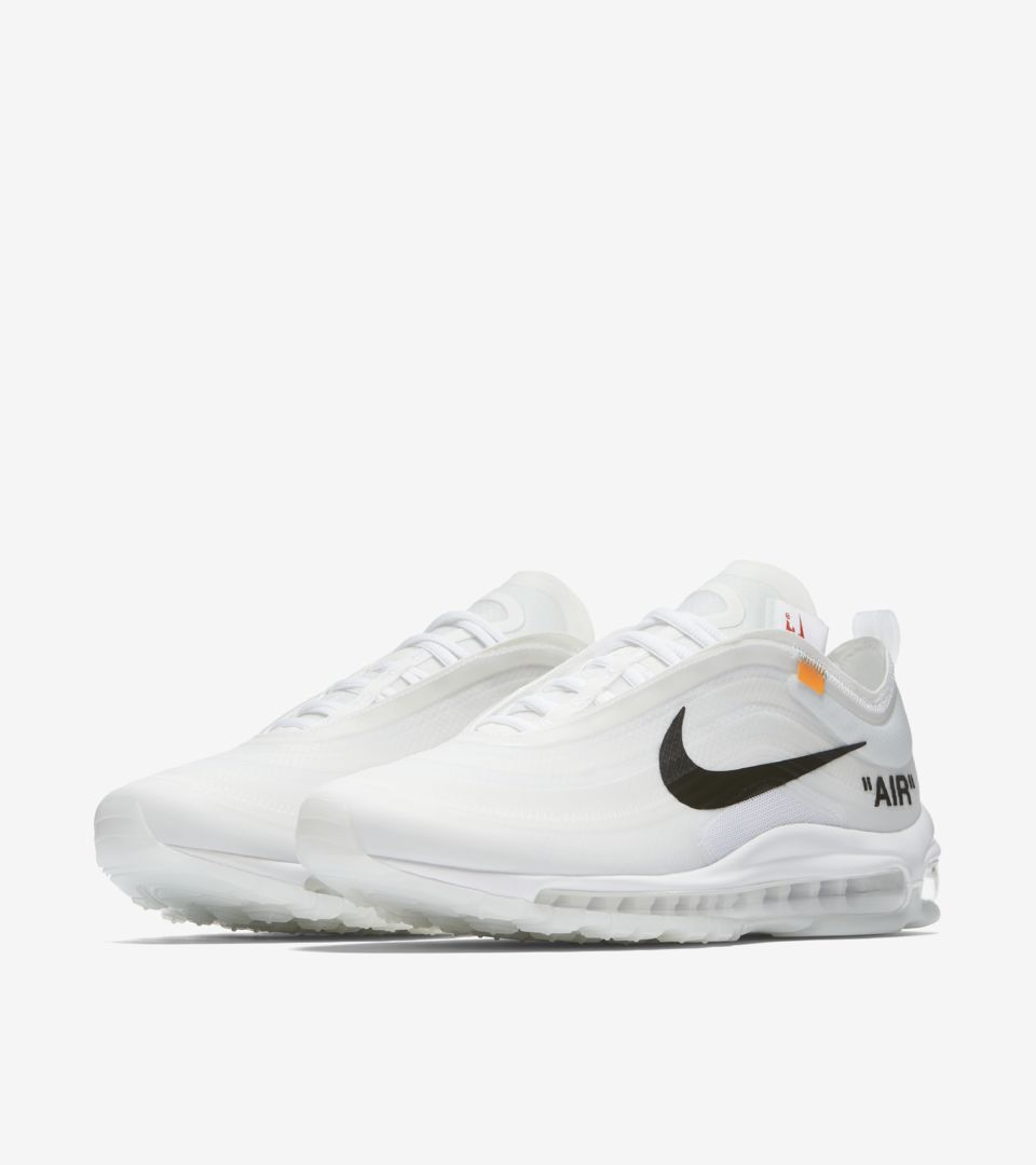 air max 97 bianche off white