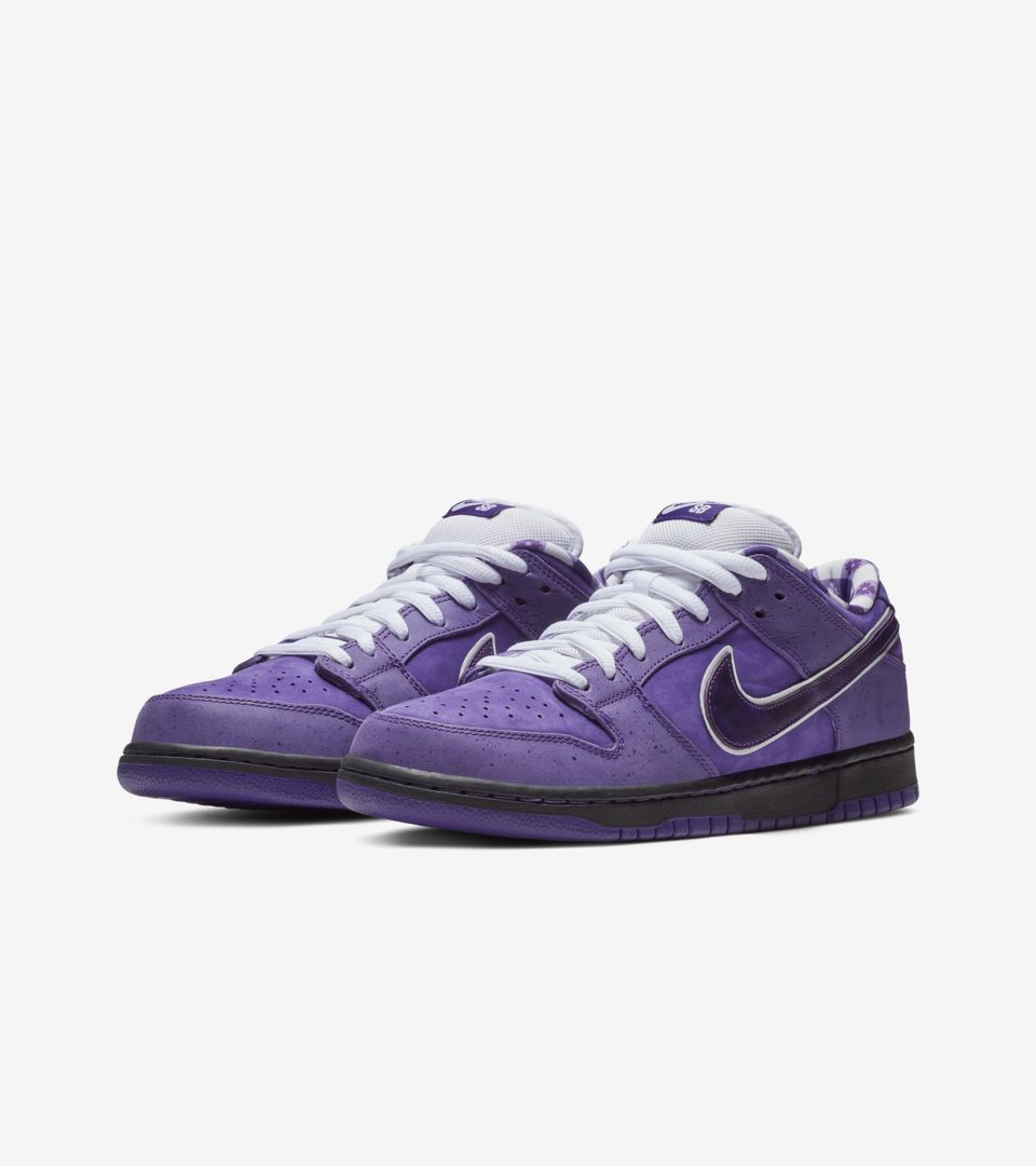 buy online e2656 b50d5 Nike SB Dunk Low Pro 'Purple Lobster' Release Date. Nike⁠+ SNKRS