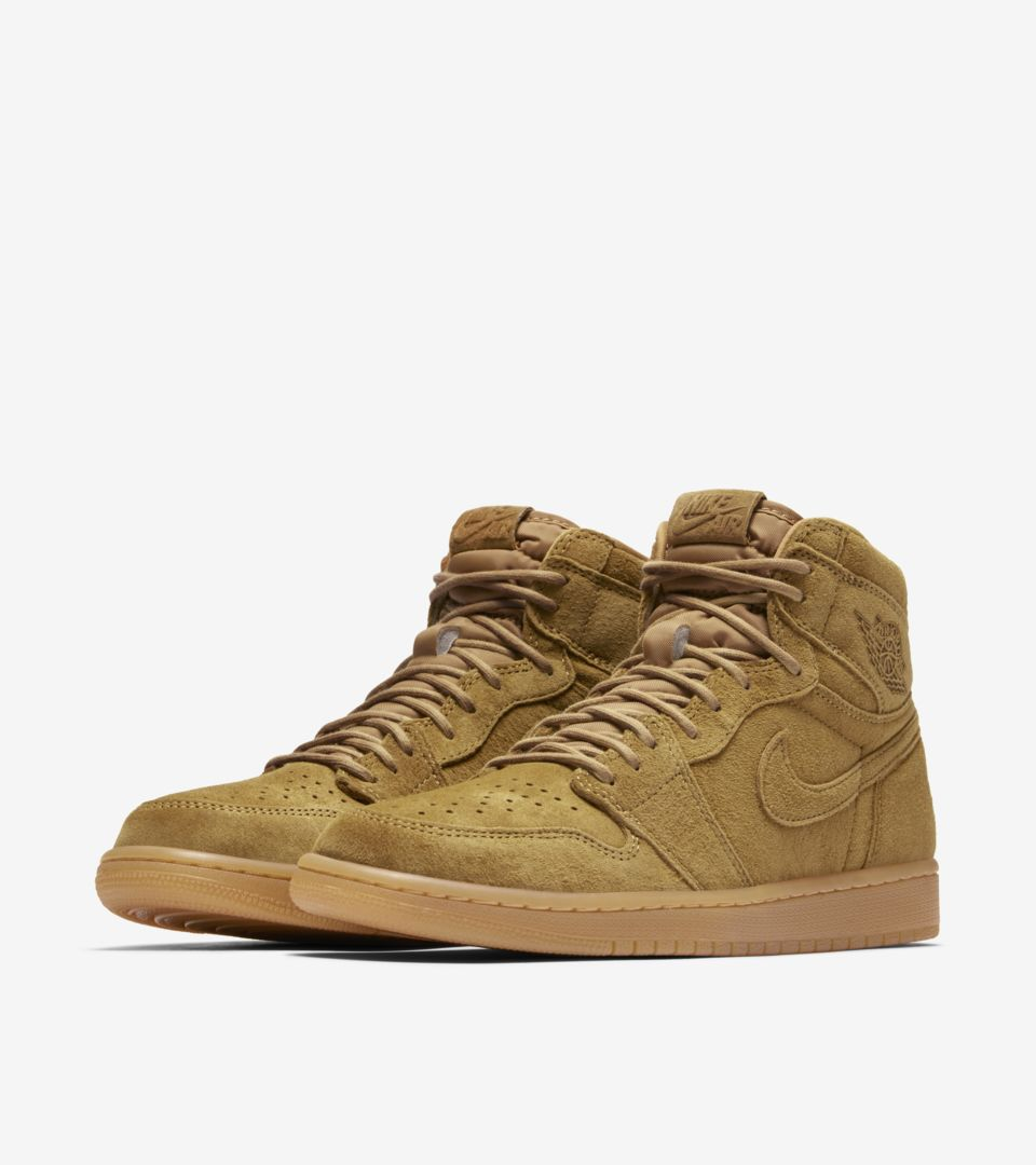 Air Jordan 1 High  Wheat  Release Date. Nike⁠+ SNKRS 8654fa758