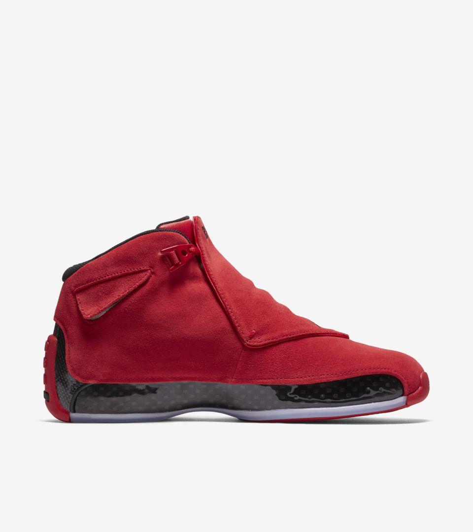 2041e4cab1451f Air Jordan 18  Gym Red   Black  Release Date. Nike+ SNKRS