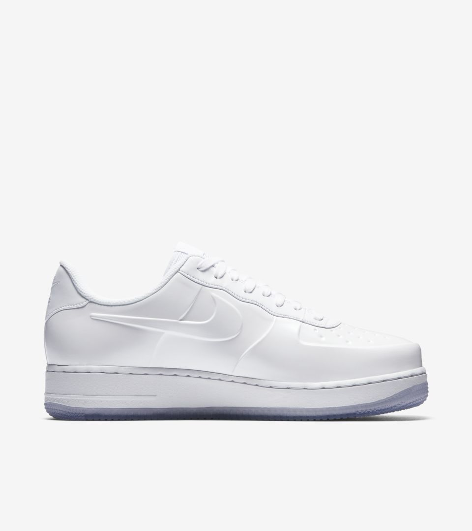 the best attitude f7911 472a1 Nike Air Force 1 Foamposite Pro Cup 'Triple White' Release ...