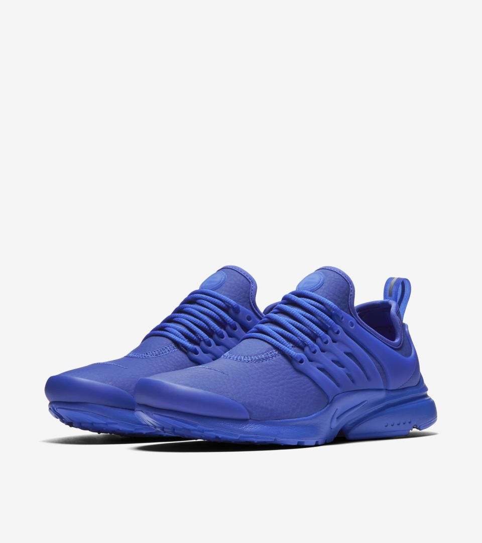 Women s Nike Air Presto Premium  Paramount Blue . Nike+ SNKRS da574543f