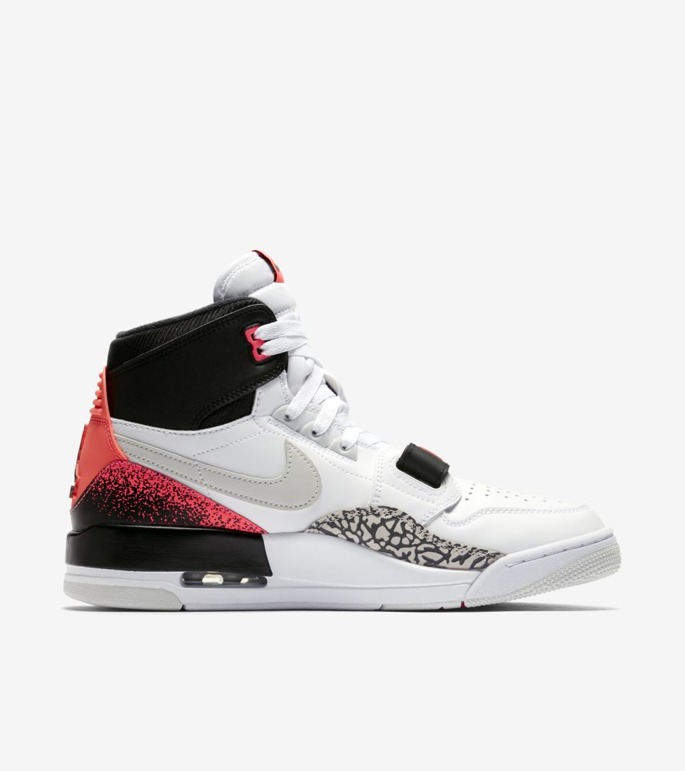 7b02f8750999 Air Jordan Legacy 312  White   Hot Lava   Black  Release Date. Nike ...