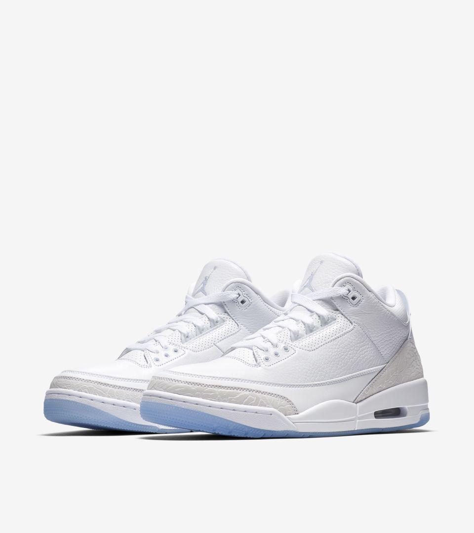 Air Jordan III 'White & White' Release Date