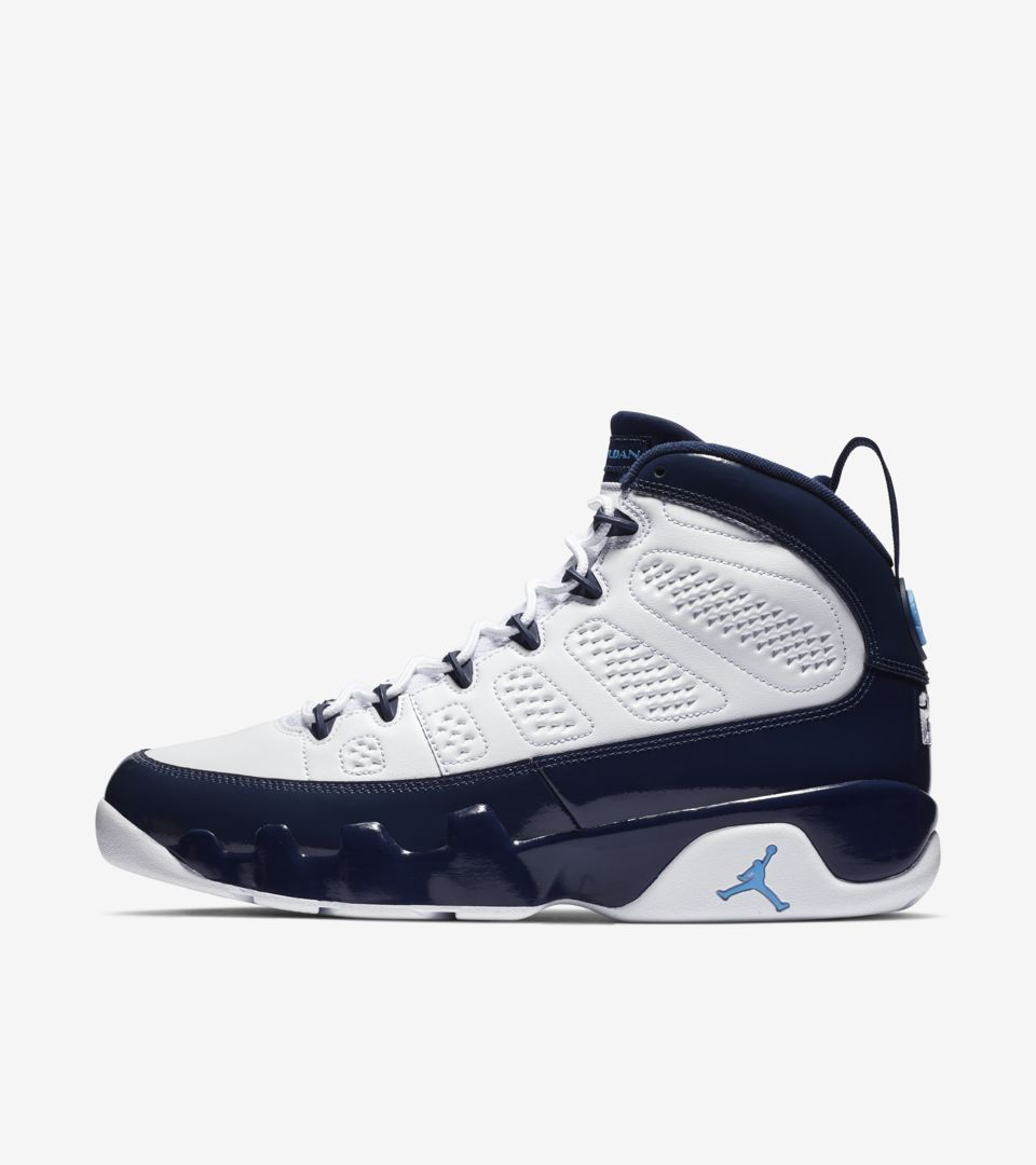 finest selection bafc2 92525 Air Jordan 9 Retro UNC 'Midnight Navy' Release Date. Nike⁠+ ...