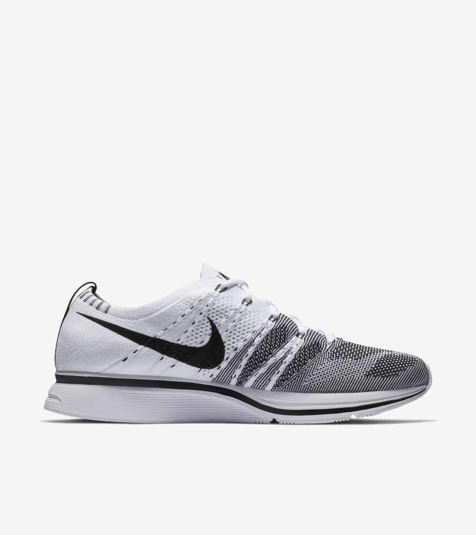 a2398c2eb4fe Nike Flyknit Trainer  White  amp  Black . Nike⁠+ Launch GB