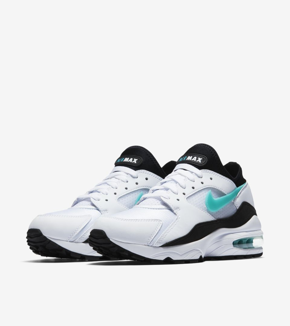 Nike Air Max 93 'White & Sport Turquoise' voor dames ...