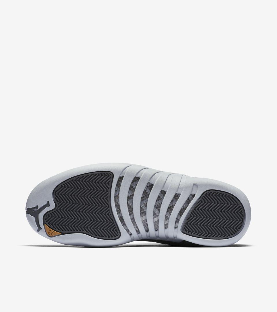 on sale f6b31 29e34 Air Jordan 12 Retro 'Dark Grey' Release Date. Nike+ SNKRS