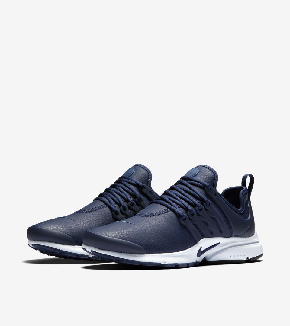 premium selection a517f 2192a Women's Nike Air Presto Premium 'Midnight Navy'. Nike⁠+ SNKRS