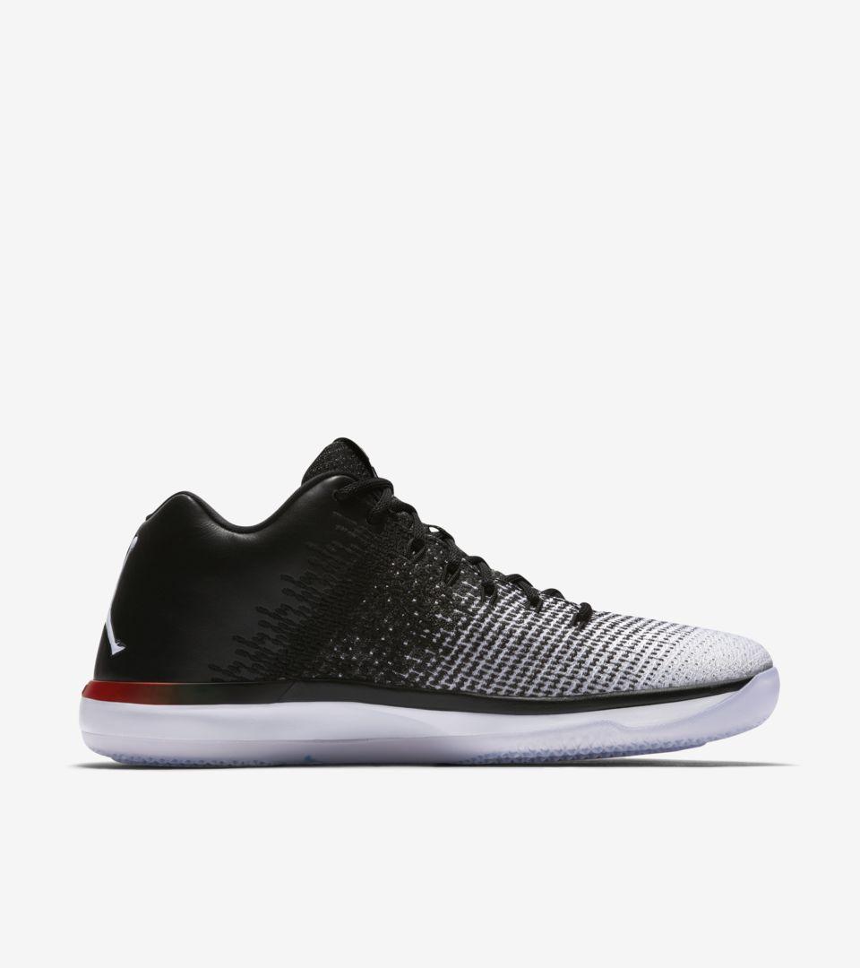 8c6c1c72c90 Air Jordan 31 Low Quai 54 'White & Black' Release Date. Nike+ SNKRS