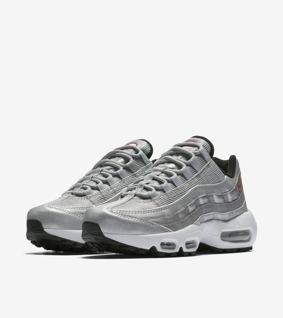 Nike Air Max 95 'Metallic Silver' voor dames
