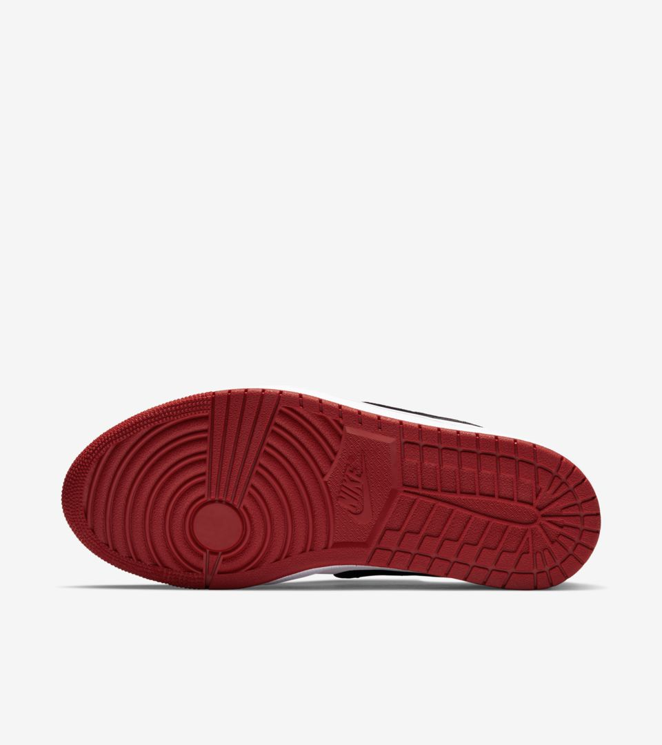 e52eca75e4f Women s Air Jordan 1 Slip Low Chicago  Varsity   Red   White  Release Date.  Nike⁠+ SNKRS
