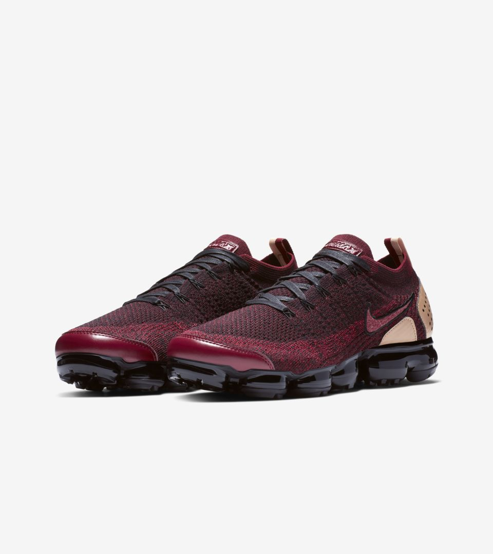 850851b777b6 ... Nike Air Vapormax Flyknit 2 NRG  Team Red   Black   Vachetta Tan   Release