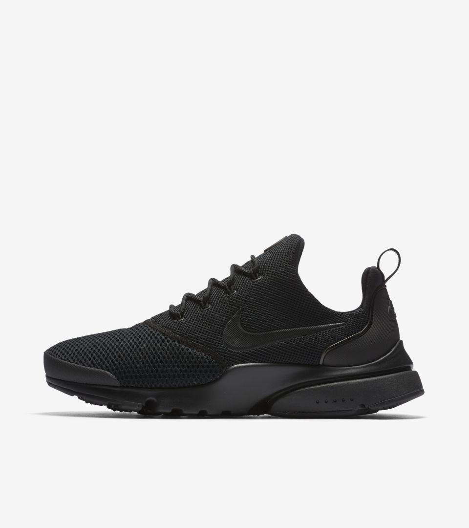 Nike Presto Fly 'Triple Black'. Nike SNKRS