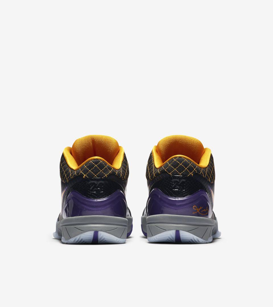 Kobe 4 Protro 'Black/Del Sol' Release Date