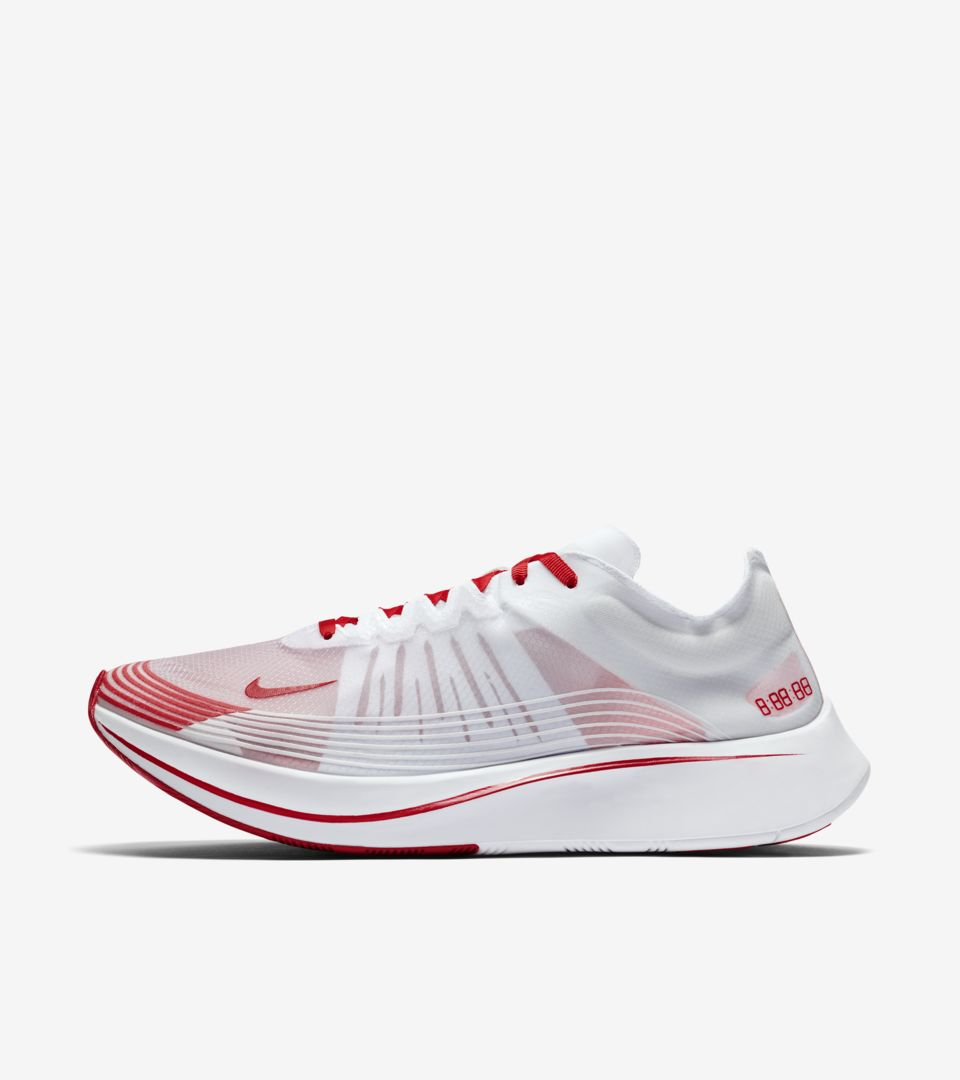 arriving exclusive range online shop Nike Zoom Fly 'White & Summit White' Release Date. Nike SNKRS
