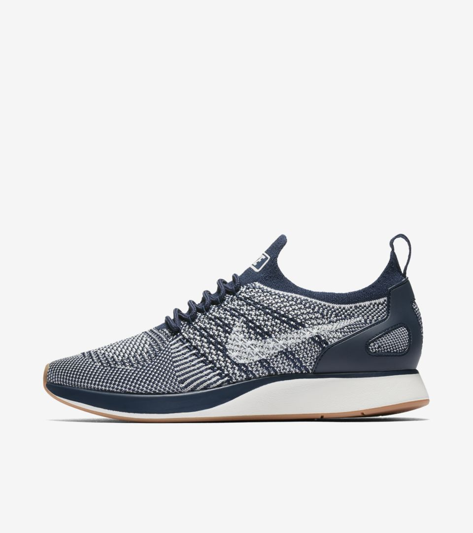 1e45b48a53177 Nike Women s Air Zoom Mariah Flyknit Racer Premium  College Navy ...