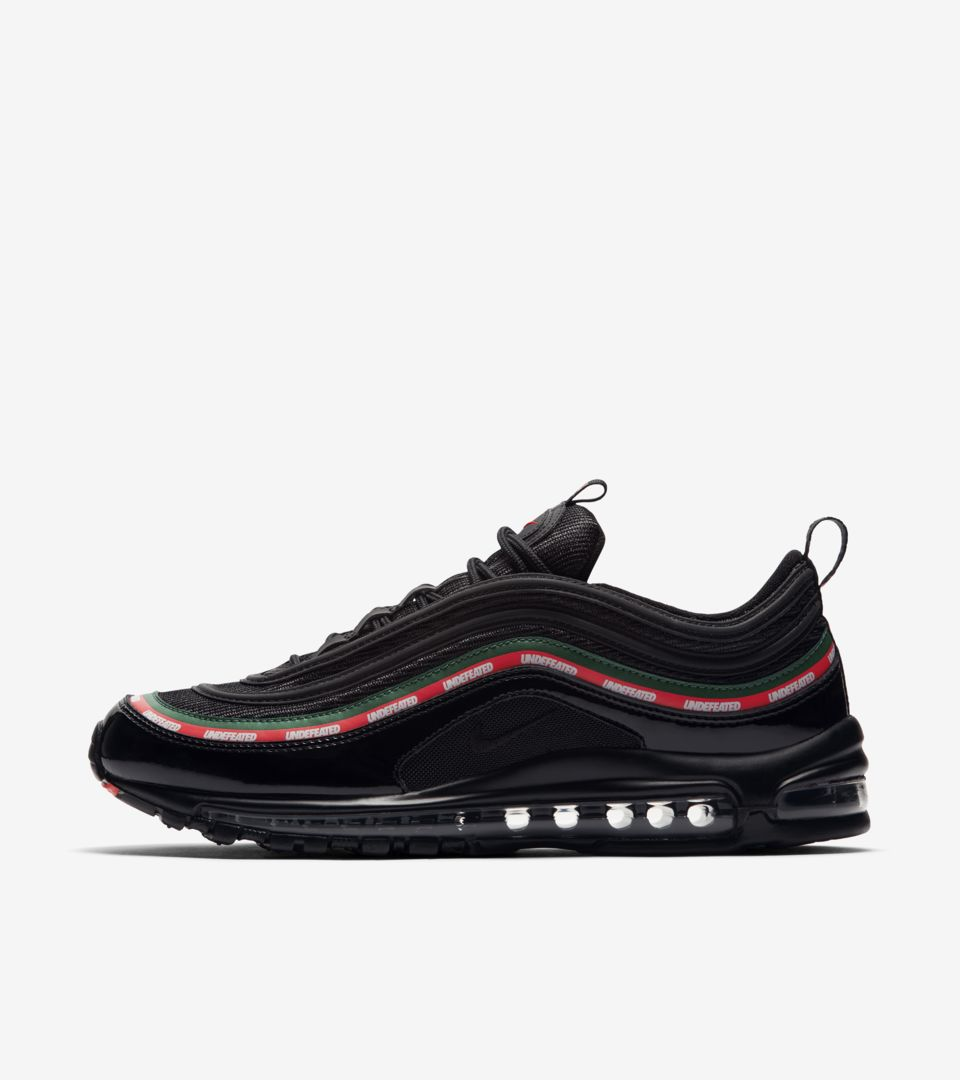 Nike Air Max 97 Premium Schwarz Gold in Berlin Steglitz