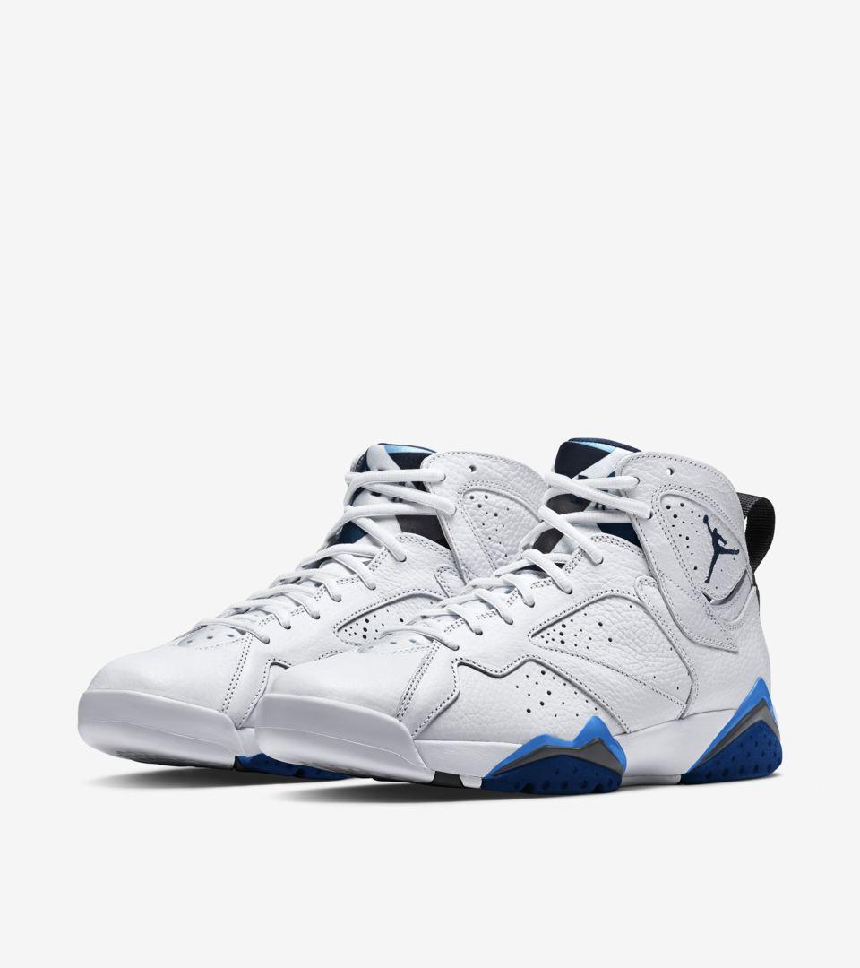 on sale 2d18f 61a25 Air Jordan 7 Retro  French Blue . Nike+ SNKRS