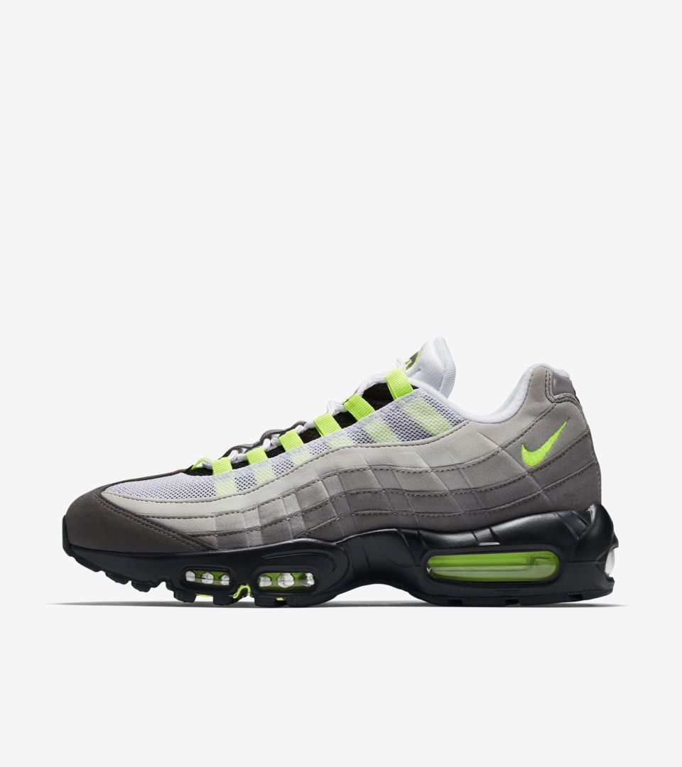 the best attitude 3926b 0ab7f Nike Air Max 95  Neon . Nike⁠+ SNKRS