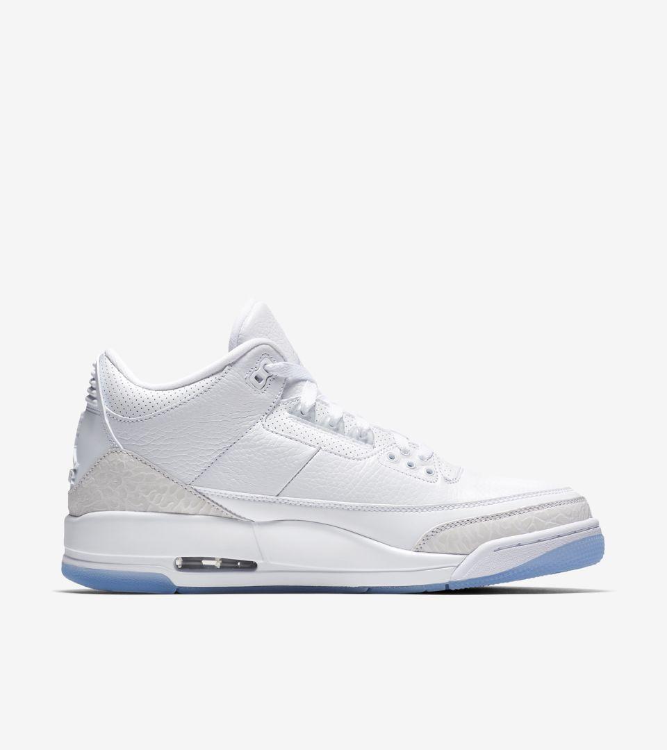 26966de17ce0a7 Air Jordan III  White   White  Release Date. Nike+ SNKRS