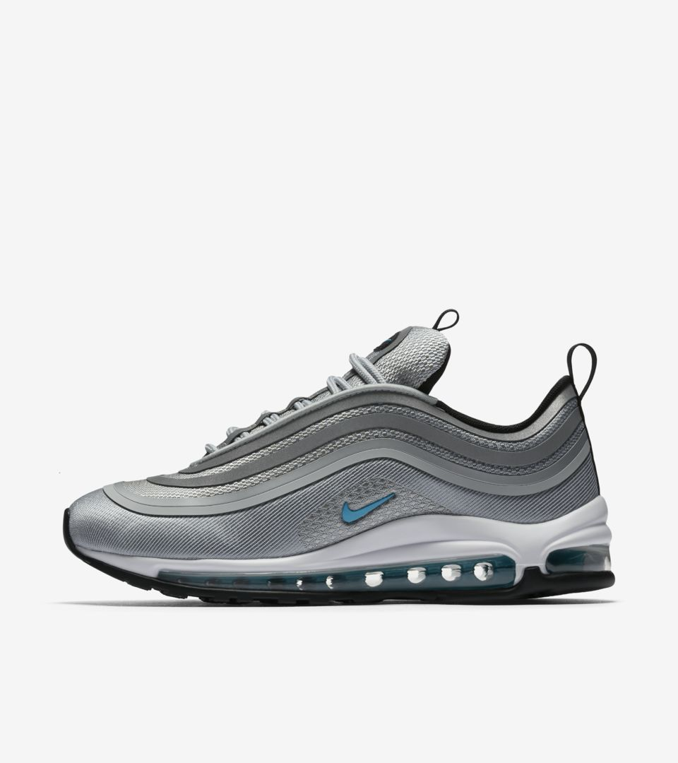 competitive price 9454a 27985 Women's Nike Air Max 97 Ultra '17 'Wolf Grey & Marina Blue' Release ...