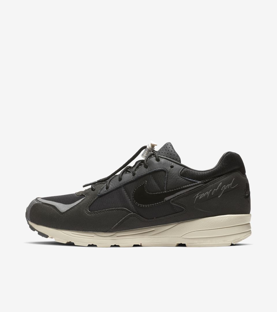 Nike Air Skylon 2 Fear of God «Black» lanseringsdato. Nike
