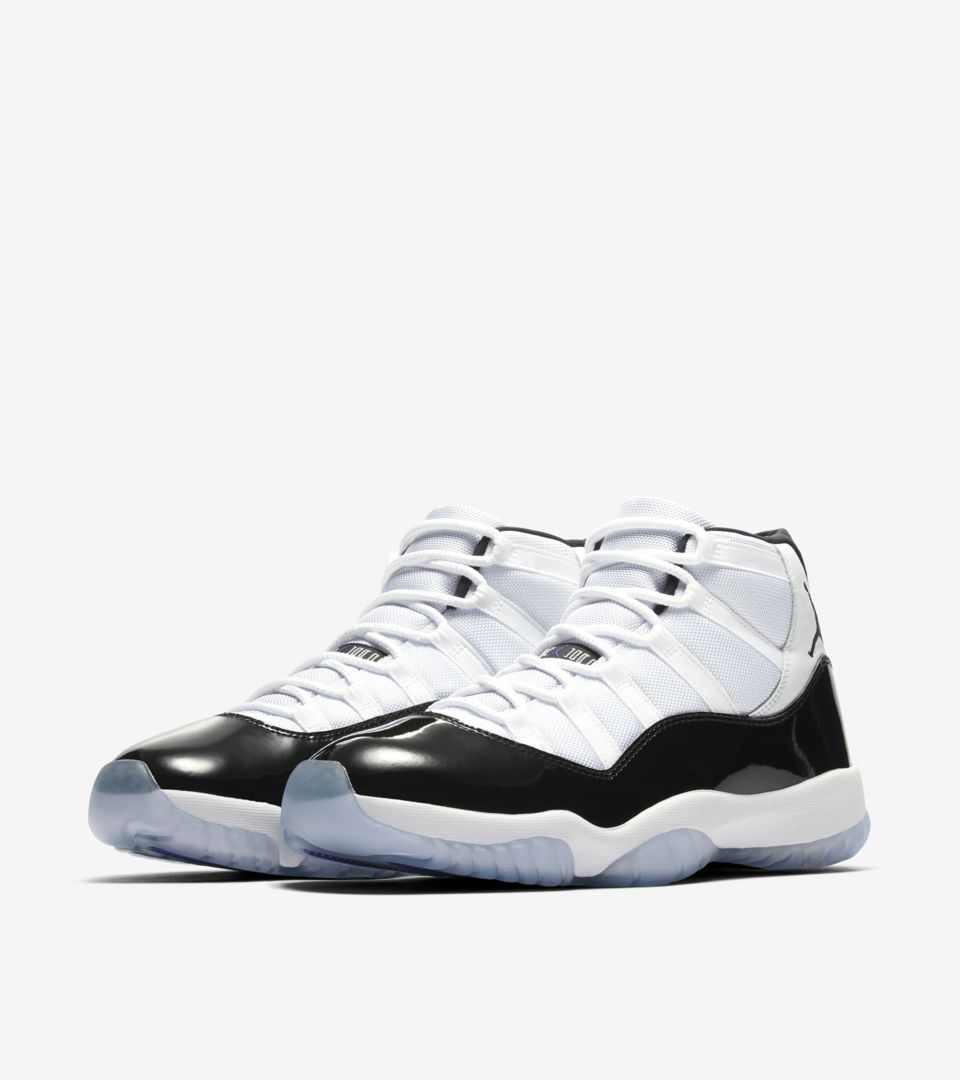 more photos a990f 73c31 Air Jordan 11 Concord  White   Black  ...