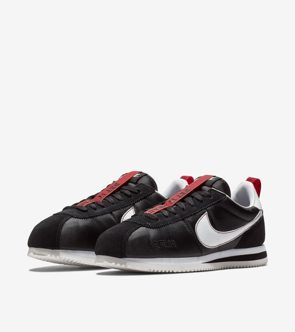 huge discount 312bf 7fe6c Cortez Kenny 3 'Black & Gym Red' Release Date. Nike⁠+ SNKRS
